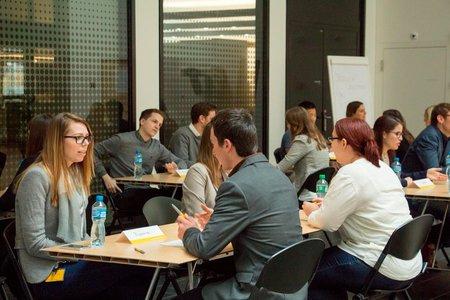 Event Die Schweizerische Post Students meet Post body