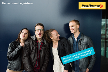 Event PostFinance AG Schnuppertag bei PostFinance body