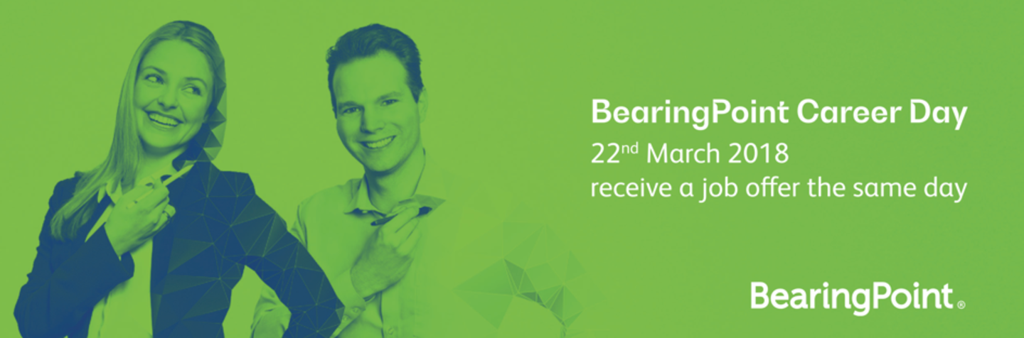 Event BearingPoint BearingPoint Career Day 2018 header