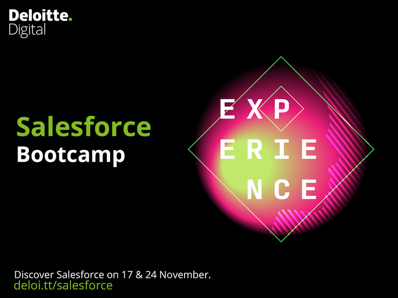 Event Deloitte Deloitte Digital Salesforce Bootcamp header