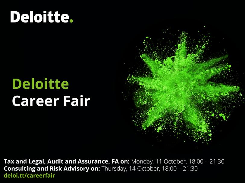 Event Deloitte Deloitte Career Fair 2021 header