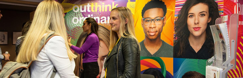 Event Hochschule Luzern Kontaktgespräch - Die Absolventenmesse der Hochschule Luzern header