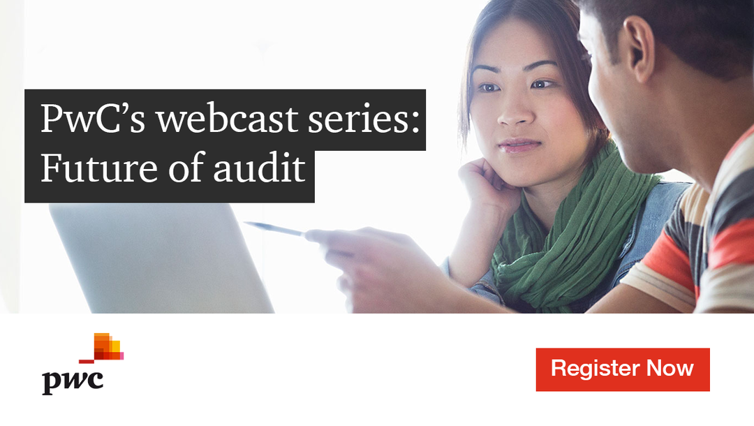 Event PwC PwC's webcast series: Future of audit  header