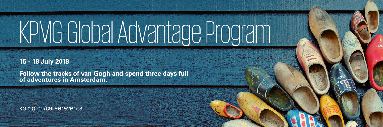Event KPMG KPMG Global Advantage Program 2018 header